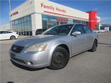 2003 Nissan Altima S   MULTI-FUNCTIONAL AUDIO SYSTEM   CLEAN BODY (Stk: 247045T) in Brampton - Image 1 of 12