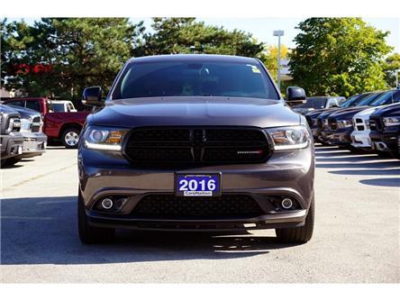 2016 Dodge Durango R/T| 5.7HEMI| BLACKTOP PKG| NAV| NAPPA LEATHER (Stk: K1259A) in Burlington - Image 2 of 50