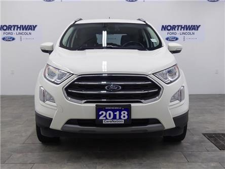 2018 Ford EcoSport Titanium | AWD | NAV | HTD LEATHER | SUNROOF | (Stk: DR594) in Brantford - Image 2 of 38
