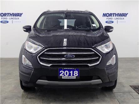 2018 Ford EcoSport Titanium | AWD | NAV | HTD LEATHER | SUNROOF | (Stk: DR596) in Brantford - Image 2 of 38
