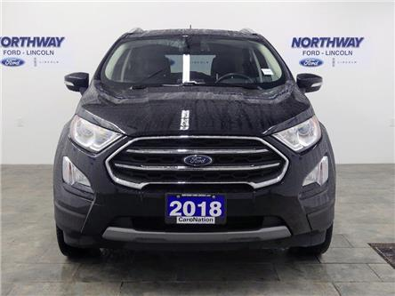 2018 Ford EcoSport Titanium | AWD | NAV | HTD LEATHER | SUNROOF | (Stk: DR587) in Brantford - Image 2 of 38