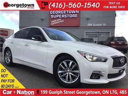 2015 Infiniti Q50 AWD | NAVI | 360 CAM | LEATHER | ROOF (Stk: FO19085A) in Georgetown - Image 1 of 33