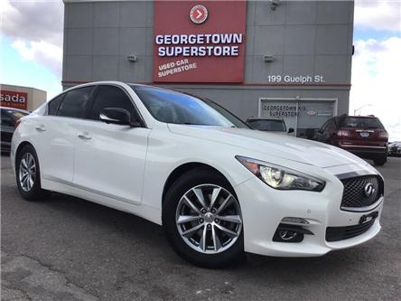 2015 Infiniti Q50 AWD | NAVI | 360 CAM | LEATHER | ROOF (Stk: FO19085A) in Georgetown - Image 2 of 33