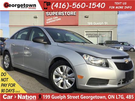 2012 Chevrolet Cruze LS   AUTO   BLU TOOTH   POWER GROUP   (Stk: P12605A) in Georgetown - Image 1 of 22