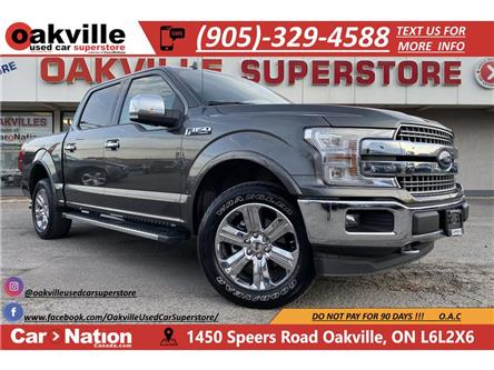2018 Ford F-150 LARIAT | PANO ROOF | LEATHER | NAVI | B/U CAM (Stk: P12667) in Oakville - Image 1 of 22