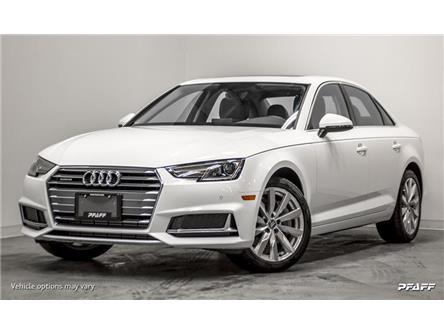 2019 Audi A4 45 Komfort (Stk: T17565) in Vaughan - Image 1 of 16