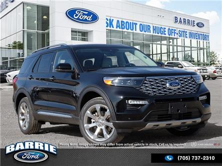 2020 Ford Explorer Platinum (Stk: U0028) in Barrie - Image 1 of 27