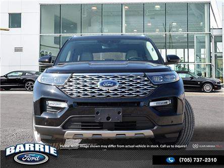 2020 Ford Explorer Platinum (Stk: U0028) in Barrie - Image 2 of 27