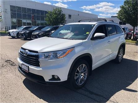 2016 Toyota Highlander XLE (Stk: U2792) in Vaughan - Image 1 of 30