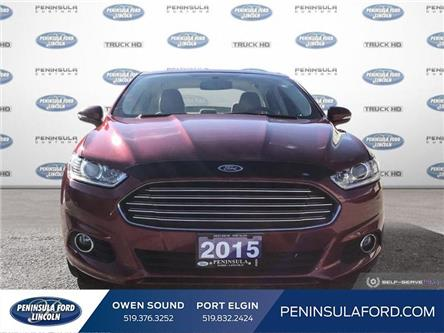 2015 Ford Fusion Hybrid SE (Stk: 20FN01A) in Owen Sound - Image 2 of 26