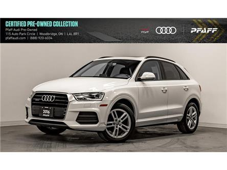 2016 Audi Q3 2.0T Komfort (Stk: C7198) in Woodbridge - Image 1 of 22