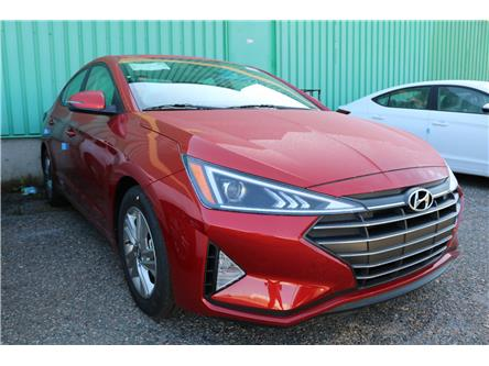 2020 Hyundai Elantra Preferred w/Sun & Safety Package (Stk: 02331) in Saint John - Image 1 of 2