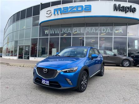 2016 Mazda CX-3 GT (Stk: P-1233) in Vaughan - Image 1 of 23