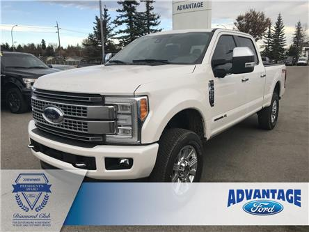 2018 Ford F-350 Platinum (Stk: T23052) in Calgary - Image 1 of 23