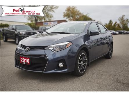 2016 Toyota Corolla S (Stk: 109A) in Hamilton - Image 1 of 22