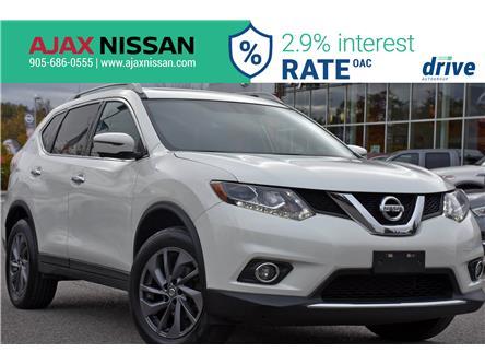 2016 Nissan Rogue SL Premium (Stk: U676B) in Ajax - Image 1 of 35