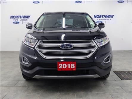 2018 Ford Edge Titanium | AWD | PWR HTD LEATHER | PUSH START | (Stk: DR555) in Brantford - Image 2 of 41