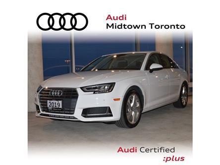 2019 Audi A4 45 Progressiv (Stk: P7530) in Toronto - Image 1 of 23