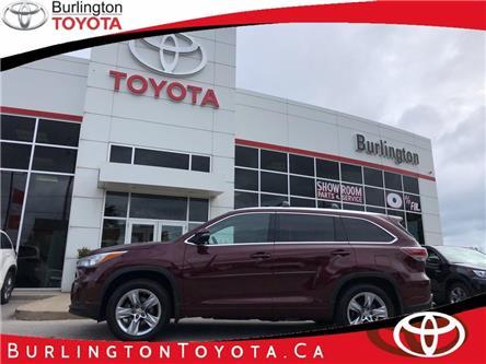 2015 Toyota Highlander Limited (Stk: U10863) in Burlington - Image 1 of 20