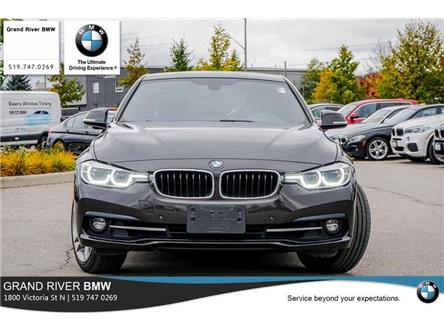 2017 BMW 330i xDrive (Stk: T34370A) in Kitchener - Image 2 of 22