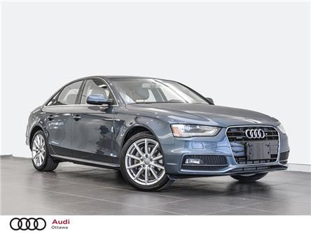 2016 Audi A4 2.0T Progressiv plus (Stk: PA605) in Ottawa - Image 1 of 19