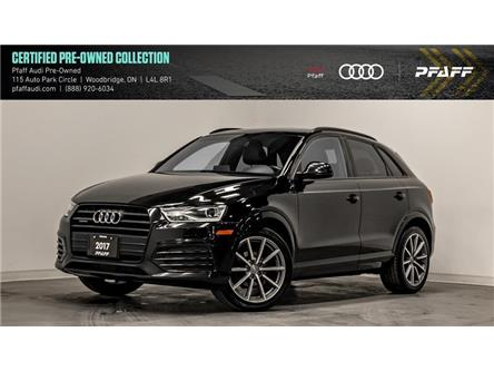 2017 Audi Q3 2.0T Progressiv (Stk: C7229) in Woodbridge - Image 1 of 22