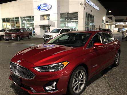 2019 Ford Fusion Hybrid Titanium (Stk: RP19384) in Vancouver - Image 1 of 27