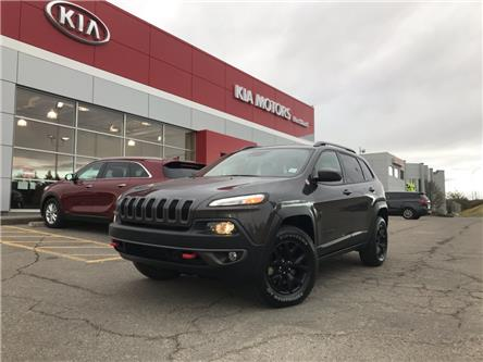 2015 Jeep Cherokee Trailhawk (Stk: P0413) in Calgary - Image 1 of 25