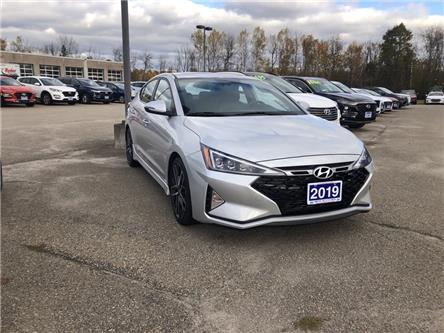 2019 Hyundai Elantra Sport (Stk: -) in Smiths Falls - Image 2 of 3