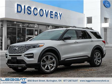 2020 Ford Explorer Platinum (Stk: EX20-74168) in Burlington - Image 1 of 23