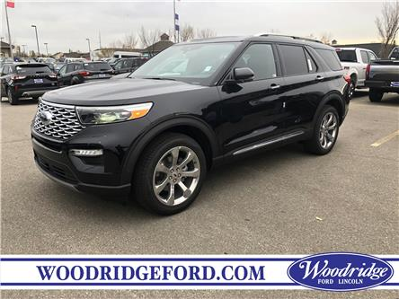 2020 Ford Explorer Platinum (Stk: L-59) in Calgary - Image 1 of 6