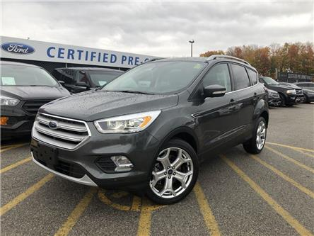 2018 Ford Escape Titanium (Stk: ED191209A) in Barrie - Image 1 of 48