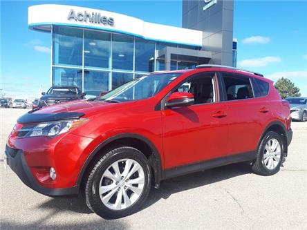 2014 Toyota RAV4 Limited (Stk: H1978A) in Milton - Image 1 of 12
