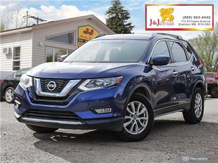 2017 Nissan Rogue SV (Stk: JB19103) in Brandon - Image 1 of 27