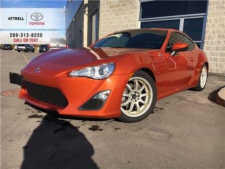 2014 Scion FR-S FR-S 2 DOOR MANUAL TINT, TWO SET OF ALLOYS, DUAL E (Stk: 8806) in Brampton - Image 1 of 18