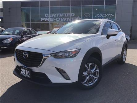 2016 Mazda CX-3 GS AWD at NAVI, LEATHER, SUNROOF, ALLOYS, HEATED S (Stk: P1983) in Toronto - Image 1 of 25