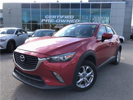 2016 Mazda CX-3 GS AWD at LEATHER, SUNROOF, ALLOYS, REAR CAM, NO A (Stk: P1984) in Toronto - Image 1 of 23