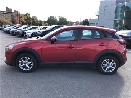 2016 Mazda CX-3 GS AWD at LEATHER, SUNROOF, ALLOYS, REAR CAM, NO A (Stk: P1984) in Toronto - Image 2 of 23