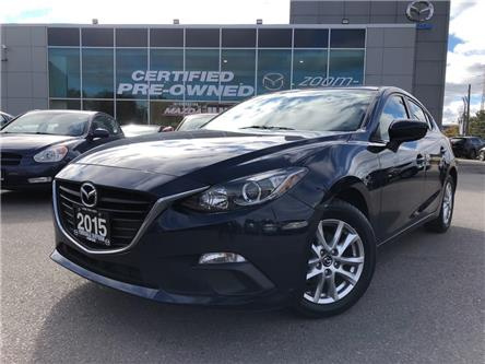 2015 Mazda Mazda3 Sport GS-SKY at REAR CAM, HEATED SEATS, NO ACCIDENT (Stk: P1976) in Toronto - Image 1 of 22