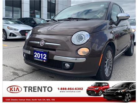 2012 Fiat 500C Lounge (Stk: K0475A) in North York - Image 1 of 16