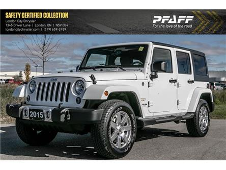 2015 Jeep Wrangler Unlimited Sahara (Stk: LU8694A) in London - Image 1 of 20
