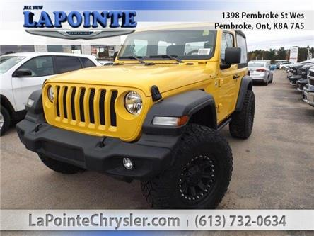 2019 Jeep Wrangler Sport (Stk: 19271) in Pembroke - Image 1 of 26