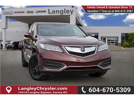 2017 Acura RDX Tech (Stk: K450358A) in Surrey - Image 1 of 22