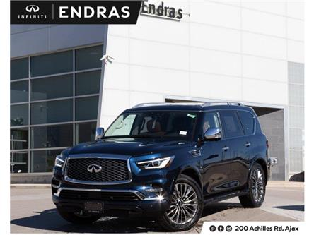 2019 Infiniti QX80 LUXE 7 Passenger (Stk: 80116) in Ajax - Image 1 of 30