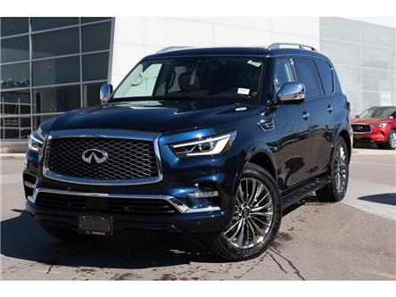2019 Infiniti QX80 LUXE 7 Passenger (Stk: 80116) in Ajax - Image 2 of 30