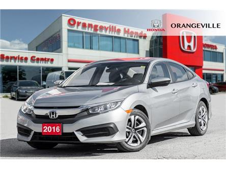 2016 Honda Civic LX (Stk: C19083A) in Orangeville - Image 1 of 18