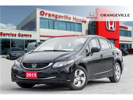 2015 Honda Civic LX (Stk: F19145A) in Orangeville - Image 1 of 19