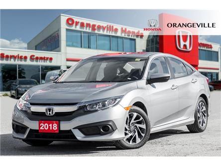 2018 Honda Civic EX (Stk: H19040A) in Orangeville - Image 1 of 20