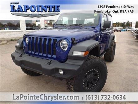 2019 Jeep Wrangler Sport (Stk: 19264) in Pembroke - Image 1 of 26