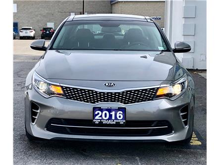 2016 Kia Optima SX Turbo (Stk: 8074H) in Markham - Image 2 of 23